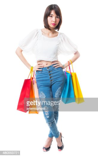 De compras : Foto de stock