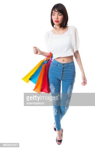 Fazer Compras : Foto de stock