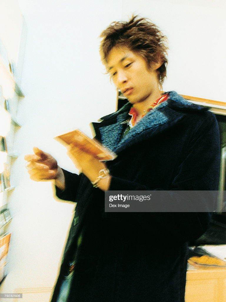 CD shopping : Stock Photo