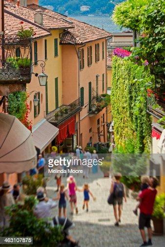 Shopping Street Bellagio Italy