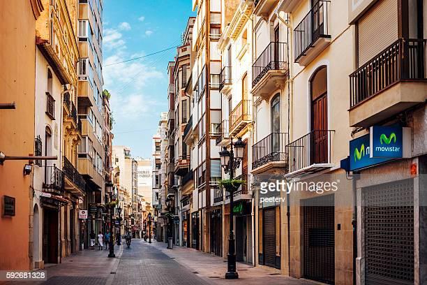 Shopping street. Castellon de la Plana, Spain.