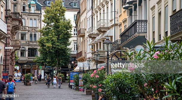Shopping street in ' Baden Baden '
