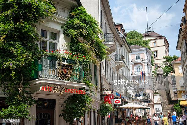 Shopping street in 'Baden Baden'