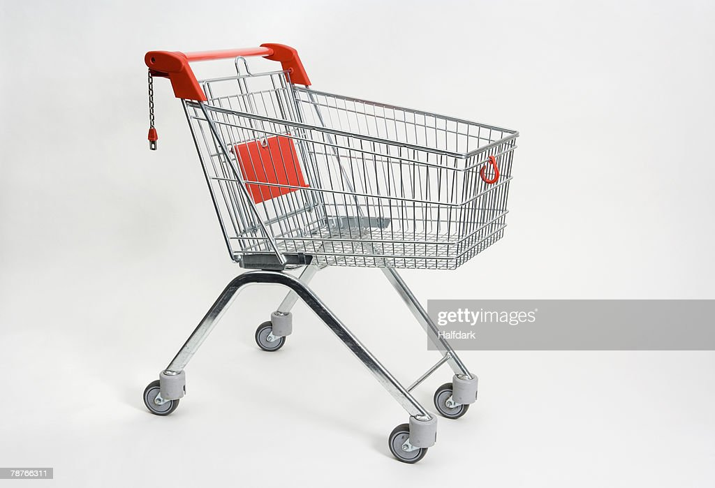 A shopping trolley