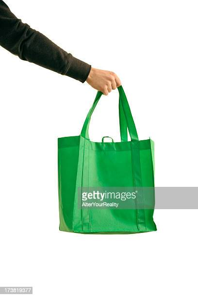 Shopping with reusable bag