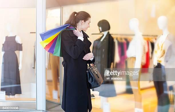 Shopping femme à Paris