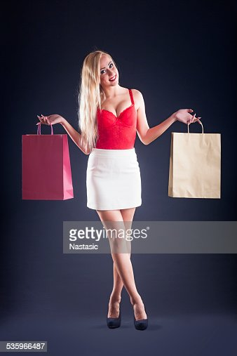 Shopping woman : Stock Photo