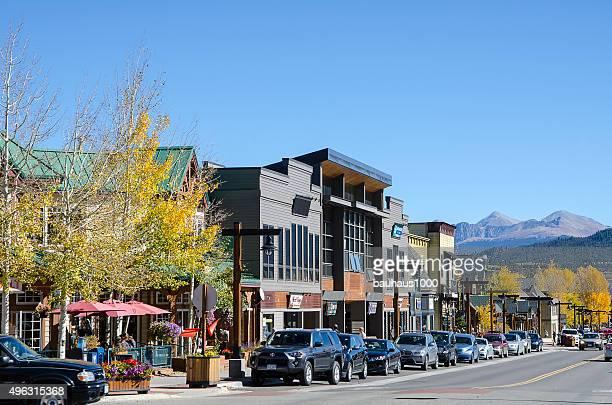 Shops and Restaurants of Frisco, Colorado