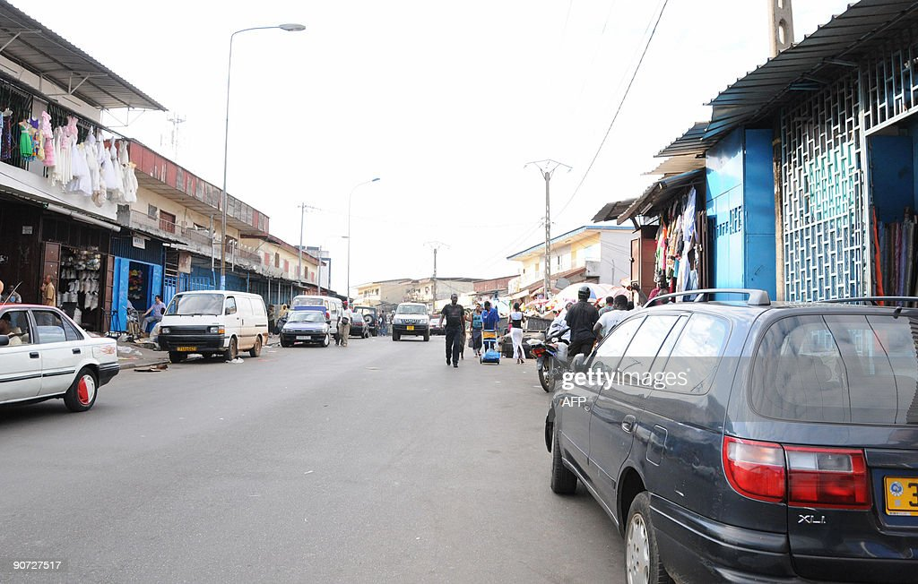Shops are seen open in Libreville on September 14 2009 Opposition calls for a threeday national shutdown in Gabon appeared to have fallen on deaf...