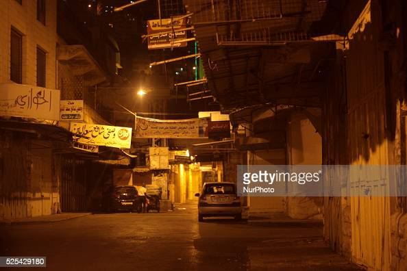 Shops closed in Nablus's old town The closure of the entrance to the city of Nablus after the killing of two settlers near the village of Beit Furik...