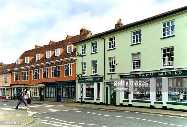 Shops in Hadleigh, Suffolk