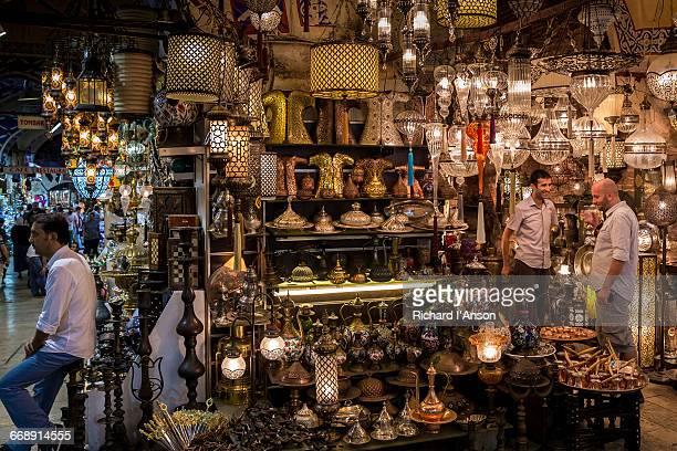 Shops in the Grand Bazaar