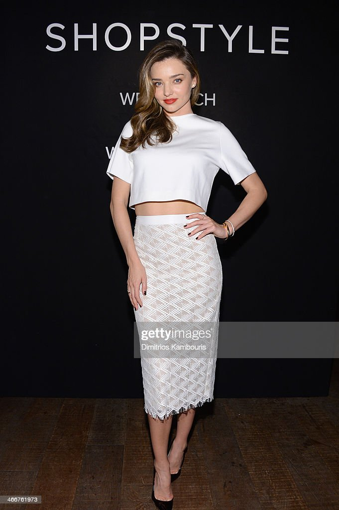 ShopStyle & <a gi-track='captionPersonalityLinkClicked' href=/galleries/search?phrase=Miranda+Kerr&family=editorial&specificpeople=5714330 ng-click='$event.stopPropagation()'>Miranda Kerr</a> Celebrate The Launch Of We Search. We Find. We ShopStyle on February 3, 2014 in New York City.