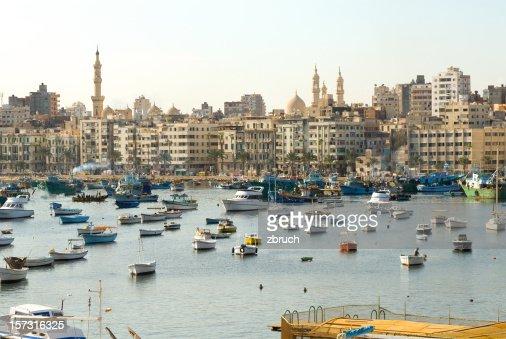 Shore of Alexandria. Egypt