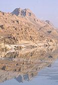 Shore of Dead Sea, Israel