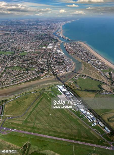 Shoreham Airport seven miles to the west of Brighton city centre on the west bank of the River Adur This aerodrome was officially opened in June 1911...