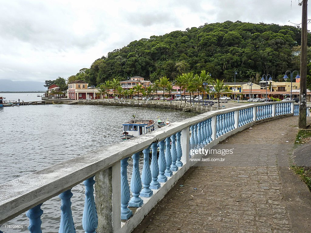 Shoreline of Guaraquecaba Bay, Parana, Brazil