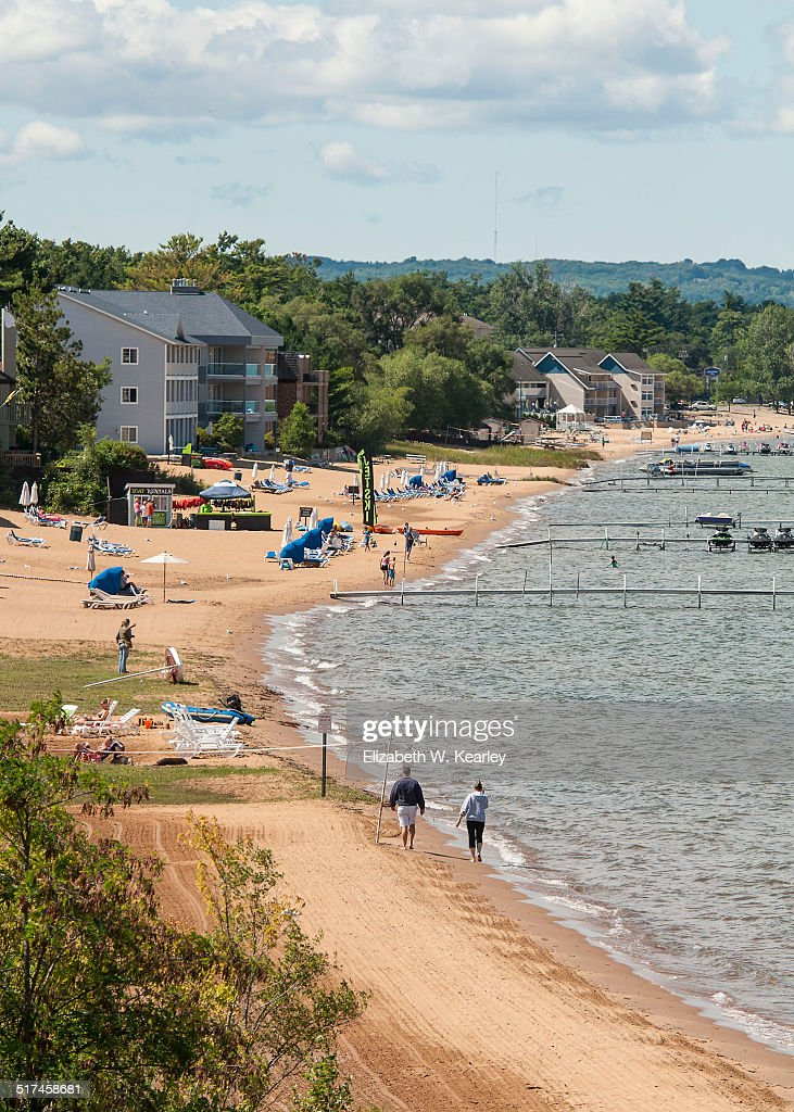 Shoreline of Lake Michigan