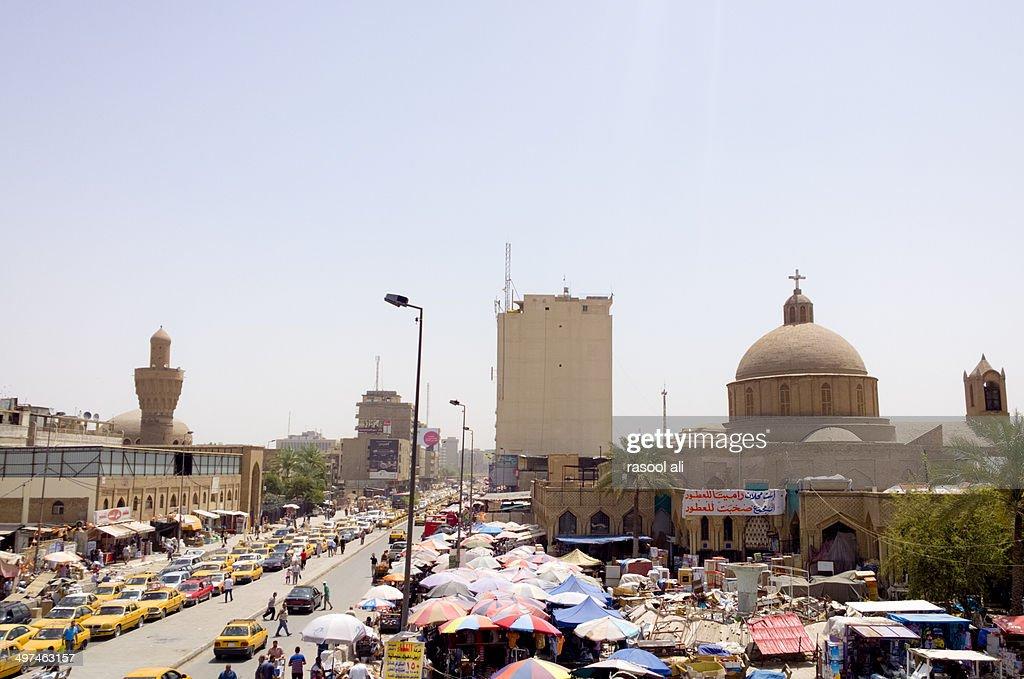 Shorja market : Stock Photo