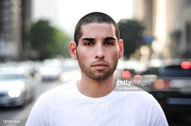 Short haired guy portrait