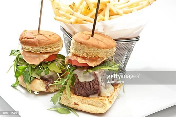 short ribs mini burger