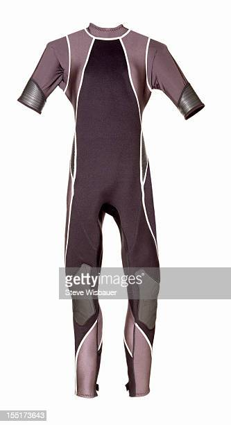 A short sleeved long leg spring shorty wetsuit