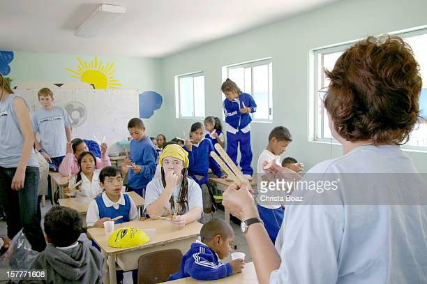 Short Term Mission in Tijuana School