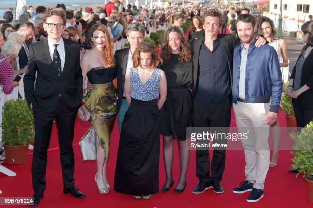 Shortcuts jury Gabriel Le Bomin Elodie Frege Swann Arlaud Solene Rigot Salome Richard Olivier Chantreau Yaniss Lespert attend red carpet of 3rd day...