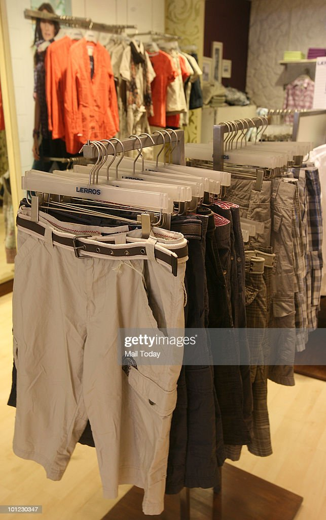 Shorts are displayed at a Lerros store in South-Ex 1 on May 26, 2010.