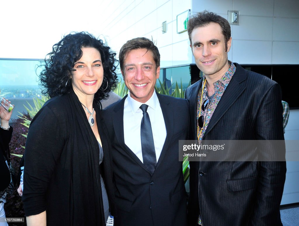Shorts Programmer / Latin American Programmer Hebe Tabachnik , Film Independent co-president Sean McManus, and actor Karl Jacob attend the Filmmaker Reception during the 2013 Los Angeles Film Festival at Ritz Carlton on June 16, 2013 in Los Angeles, California.