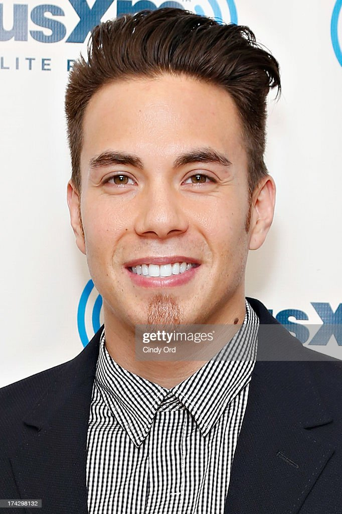 Short-track speed skater/ TV personality <a gi-track='captionPersonalityLinkClicked' href=/galleries/search?phrase=Apolo+Anton+Ohno&family=editorial&specificpeople=213110 ng-click='$event.stopPropagation()'>Apolo Anton Ohno</a> visits the SiriusXM Studios on July 23, 2013 in New York City.