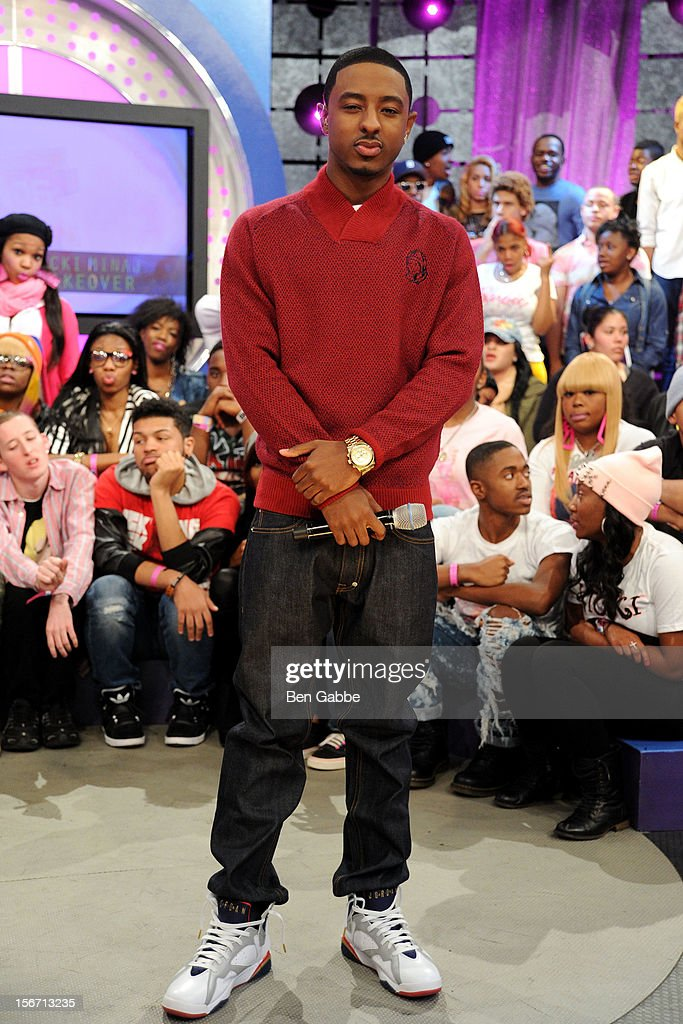 Shorty attends BET's 106 & Park Studio on November 19, 2012 in New York City.