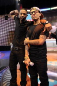 Shorty Da Prince and Bow Wow at BET's 106 Park Studio on March 18 2013 in New York City