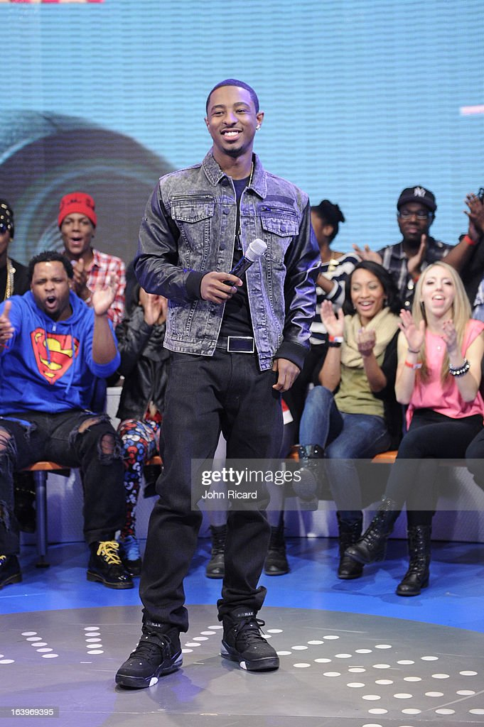 "Megan Good, Mack Maine And Talib Kweli Visit BET's ""106 & Park"""