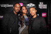 Shorty Da Prince Kimberly 'Paigion' Walker and Bow Wow attend the 'Real Husbands Of Hollywood' 'Second Generation Wayans' screening after party at 40...