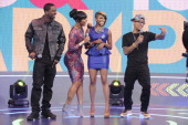 Shorty Da Prince Paigion Miss Mykie and Bow Wow at BET's 106 Park Studio on March 18 2013 in New York City