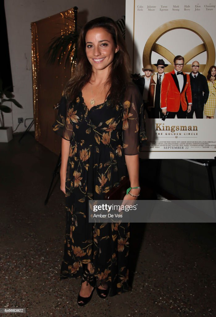 Shoshanna Gruss attends a special screening of the new film 'Kingsman The Golden Circle' at Metrograph on September 13, 2017 in New York City.