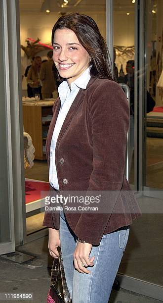 Shoshanna Lonstein during Party Celebrating Super Saturday 5 at DKNY Store in New York City New York United States
