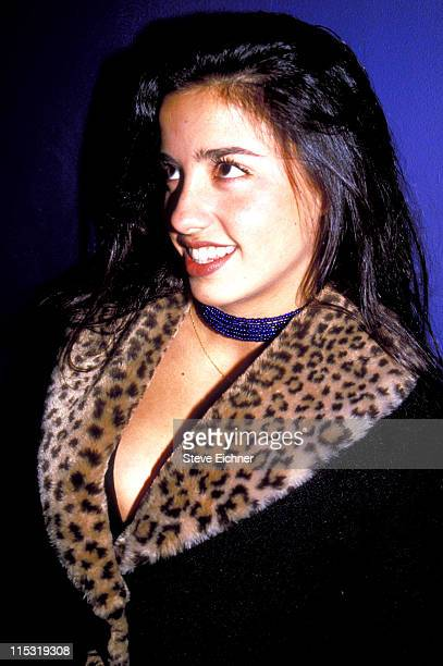 Shoshanna Lonstein during Shoshanna Lonstein at Club USA 1994 at Club USA in New York City New York United States