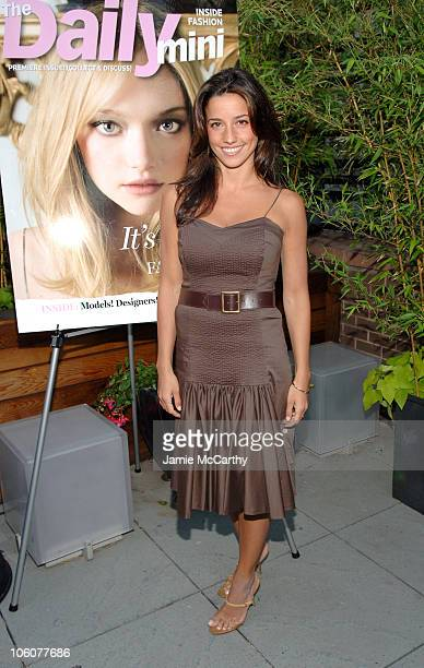 Shoshanna Lonstein Gruss during Fashion Fete To Celebrate The Launch of The Daily Mini at The Garden of Ono in New York City New York United States