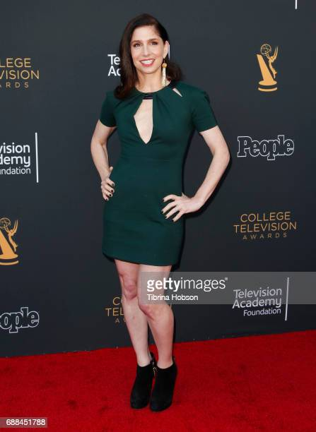 Shoshannah Stern attends the 38th College Television Awards at Wolf Theatre on May 24 2017 in North Hollywood California