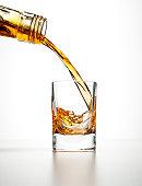 Shot glass drink