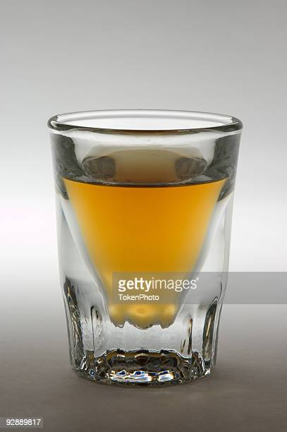 Shot Glass with Liquor