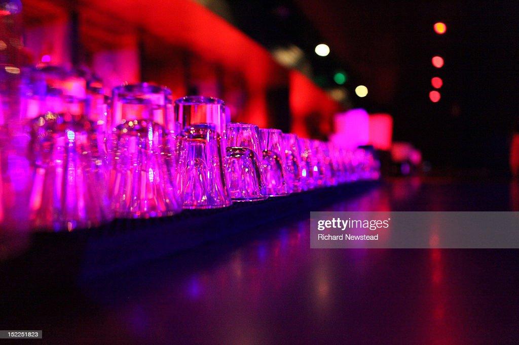Shot glasses : Stock Photo