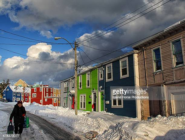 CONTENT] Shot in the winter of 2011 this photograph was taken on Cabot Street in St John's Newfoundland Canada