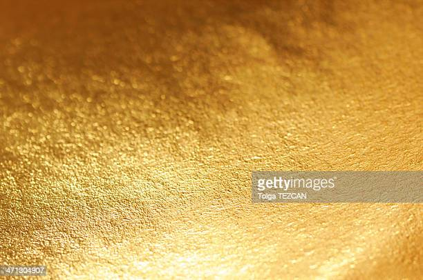 A shot of a gold metallic background