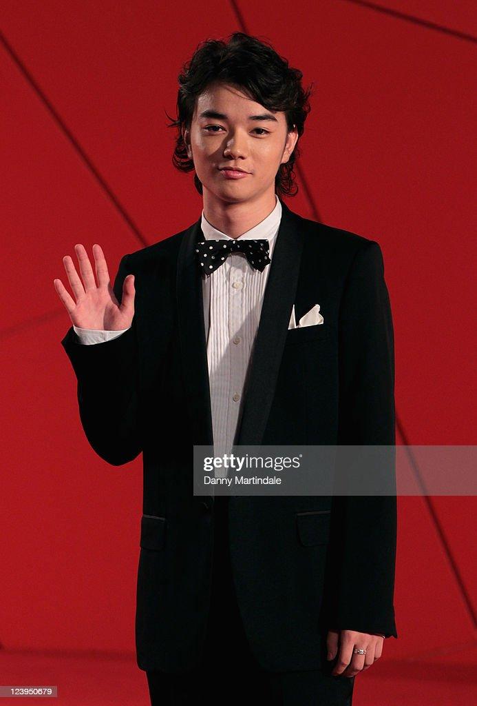 Shota Sometani attends the 'Himizu' Premiere at Palazzo del Cinema on September 6 2011 in Venice Italy