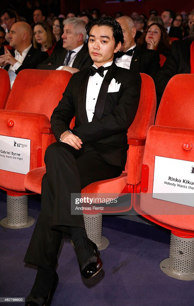 Shota Sometani attends the opening ceremony at the 65th Berlinale International Film Festival at Berlinale Palace on February 5 2015 in Berlin Germany