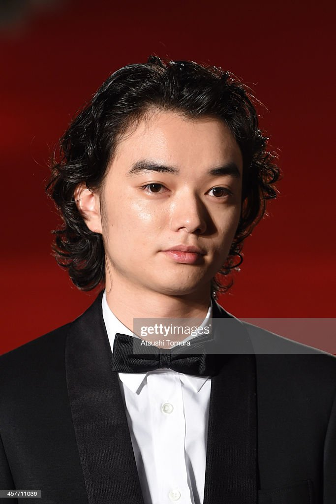 Shota Sometani of Japan arrives at the opening ceremony during the 27th Tokyo International Film Festival at Roppongi Hills on October 23 2014 in...