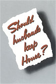 Should Husbands Keep House